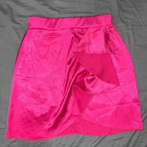 Pretty Little Thing Mini Skirt- Hot Pink- 4